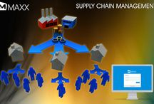 Supply Chain Management / * Easily manage the quantity and movement of inventories including raw material, work in process and finished goods....http://maxxerp.blogspot.in/2013/12/supply-chain-management-easily-manage.html
