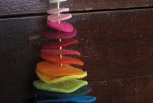 Christmas In the Park Rainbow Tree Ideas / by Joanna Connelly