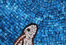 mozaiek konijn