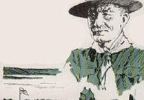 Spejderhistorie / Pins om spejder i gamle dage og spejdernes historie