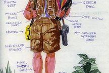 Adventure Motorcycle Gear / Great gear for women and men motorcycle adventure travelers.