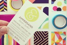 It's all Business / Business cards and other paper communications.  / by Lauren Aylworth