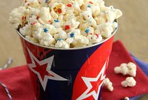 Red, White, and Blue Fun / Everything you need to make your patriotic holiday a success!  Red, White, and Blue Food, Decor, and Other Fun Ideas for July 4th, Memorial Day, Flag Day, Labor Day, or any other day that is best celebrated with Red, White, and Blue!