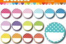 Planner Clipart / Design your own planner stickers with these cute planner cliparts.