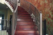 "Designer Detail for ANY home! / Artistic detail on the face of your stairs is perfect for any home at any price level! And it protects from ugly black scuff marks on your stairs. Unending and stunning beauty! ""Rustic Line Subtle""."