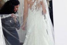 """Trunk Show realizzato da Merinda Spose / Il momento più bello per Merinda e il suo staff è quando gli occhi della futura sposa si illuminano di quella luce unica che fa dire """"Il mio abito è questo"""""""