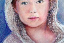 portraits by Kamila Guzal-Pośrednik / A custom portraits made by me
