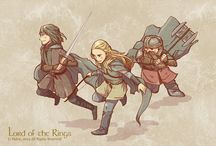 The Lord of The Rings & The Hobbit /