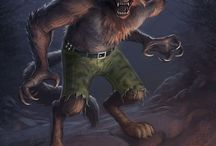 werewolves  and terrible creatures