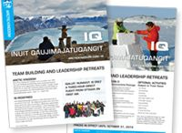 Meetings and Incentives / Leadership and Team-building activities, hotels, meals, meeting spaces in the Arctic