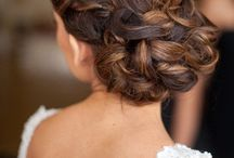Wedding hair, nails & makeup