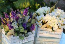 composizioni fiori artificiali handmade