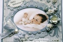 Baby card / by Gitte Rasmussen
