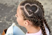 Little girls hair / Haar ideeen