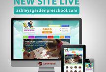 Preschool Website Designs