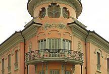 Il mio Piemonte Liberty / Le mie foto degli edifici Liberty in Piemonte (Torino esclusa)
