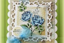 JustRite cards designed Beate Johns / by JustRite Papercraft