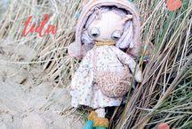 Doodle Dune Bugs - fairy / pixie dolls