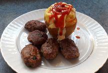 Fırında Patates-Baked Patato