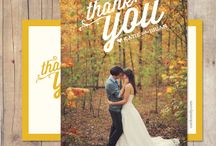 Thank you and ivitatin wedding cards