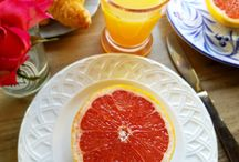 ELE Perfect Summer Breakfasts / Great a beautiful summer breakfast