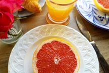 ELE Perfect Summer Breakfasts / Great a beautiful summer breakfast