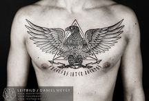 Tatoo aigle romain