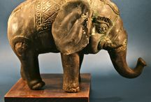 Antique Elephants
