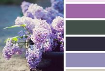 Color palettes / Paletky barev