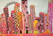 ArtEd- Cityscapes, landscapes