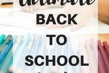 Back To School / Everything you need to know about school from Pre-School to Uni