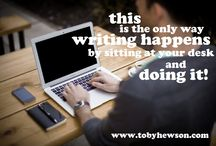 Toby Hewson / My business website - www.tobyhewson.com - for writing creative content for business and social media