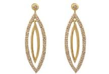 Diamond Earrings / Diamond Earrings From Gemologica (Online at Gemologica.com)