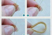koraliki-pierścionki