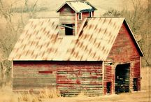 Barns and Out buildings / by BetteLou Green Campbell