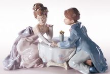 Antique & Vintage Lladro Porcelain / Famous Porcelain by Lladro ............ Time to buy an antique is when u see it !