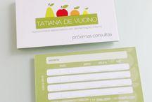 Cartão de visita - Nutricionista