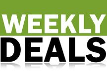 Weekly Deals / Discounts on green products each week