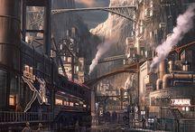 Steampunk Cities