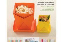 origami és egyéb könyvek - bemutató oldalakkal