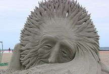 Art - Sand Sculpture / by Ray Harris