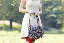 Bolsas em Crochê: Flores, Grandes, Pequenas, Carteiras ... / Bags on Crochet: Flowers, Large, Small, Portfolio / Wallets ...