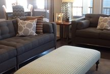 Brown and gray decor / by Rebecca Miller