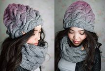снуды и шарфы