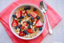 Breakfast ideas / Using Natural Ingredients
