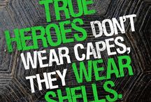 Heroes in the Shell