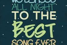 My fav go to LYRICS / It has all of the lyrics I love from my favourite songs... (Most of them being sung by 1D) ;)