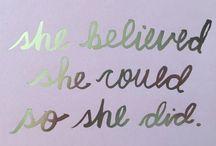 inspiring quotes...
