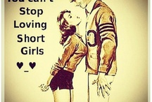 hey Shorties ;) / cause I'm short. That's why
