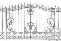bramy balustrady rozety ogrodzenia